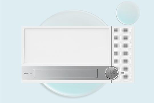 奥普新品净味浴霸 为何能成为浴室空气管家?