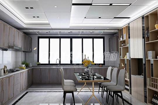 奇力蜂窝大板吊顶,让你家厨房与众不同!