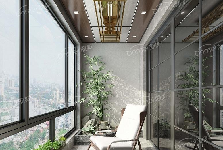 中式极简-阳台