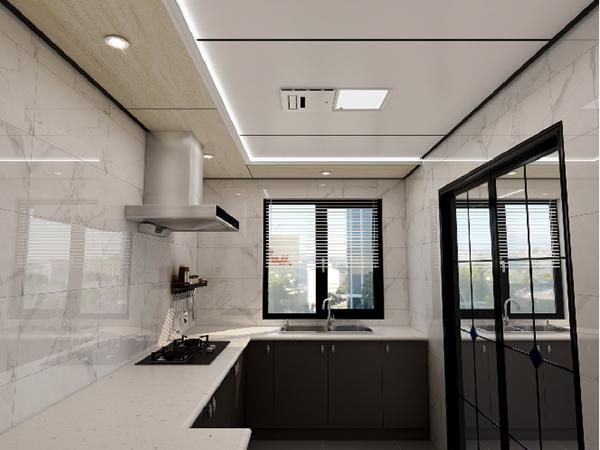 开放式厨房用什么吊顶?开放式厨房吊顶特点?