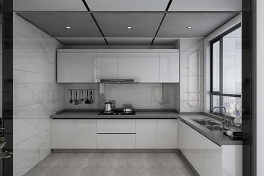 窗明几净快乐厨房 鼎美无胶大板更适配现代厨房装修