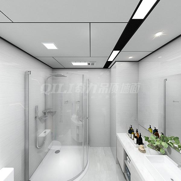 浴室装修其次注意 防滑