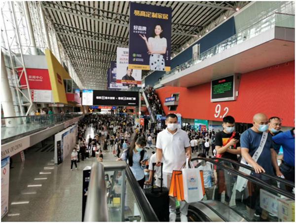 2020广州建博会现场人潮涌动