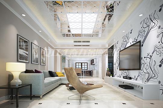 集成吊顶与家居空间的完美搭配,这样不会出错!