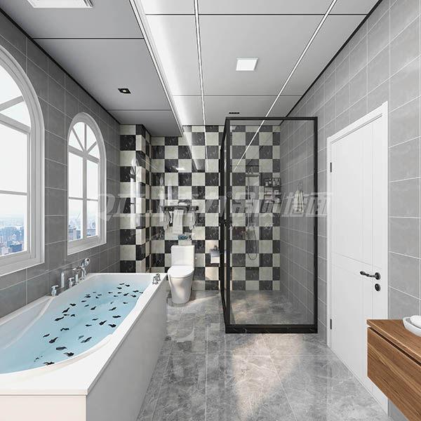 深色系浴室