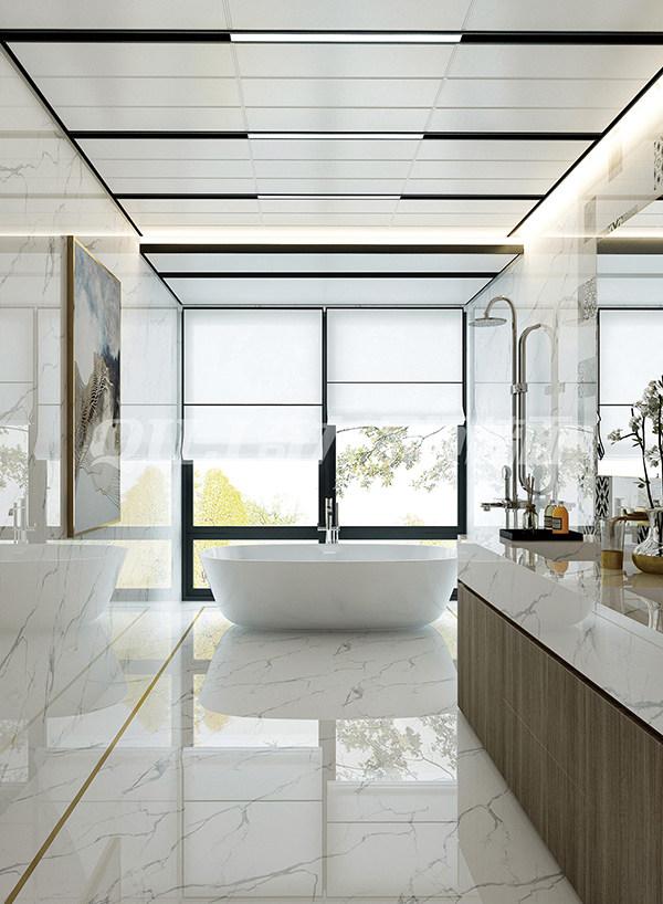 浅色系浴室