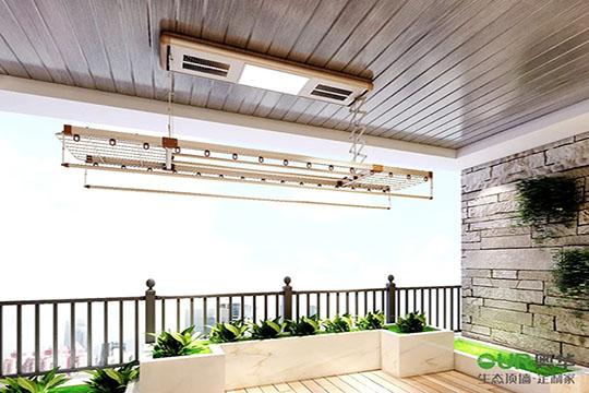 阳台不是晾衣房!不是!