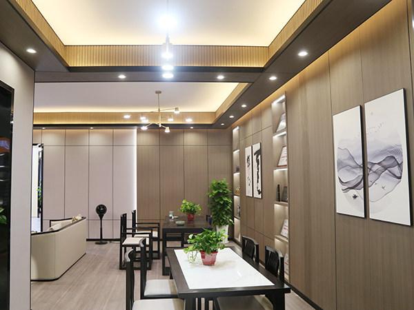 新中式客餐厅书房