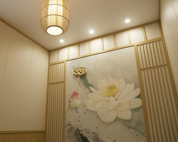 原木色茶室