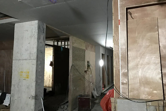 奥华顶墙高安店380㎡全面升级进行中