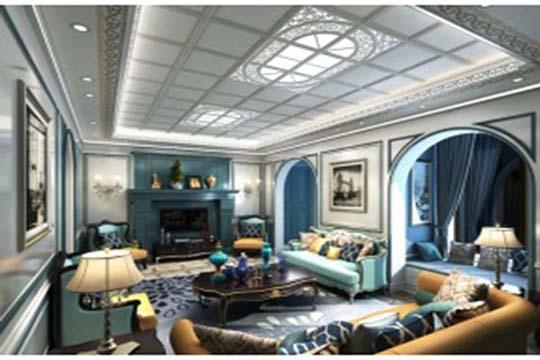 家装吊顶造型设计 吊顶设计效果图欣赏