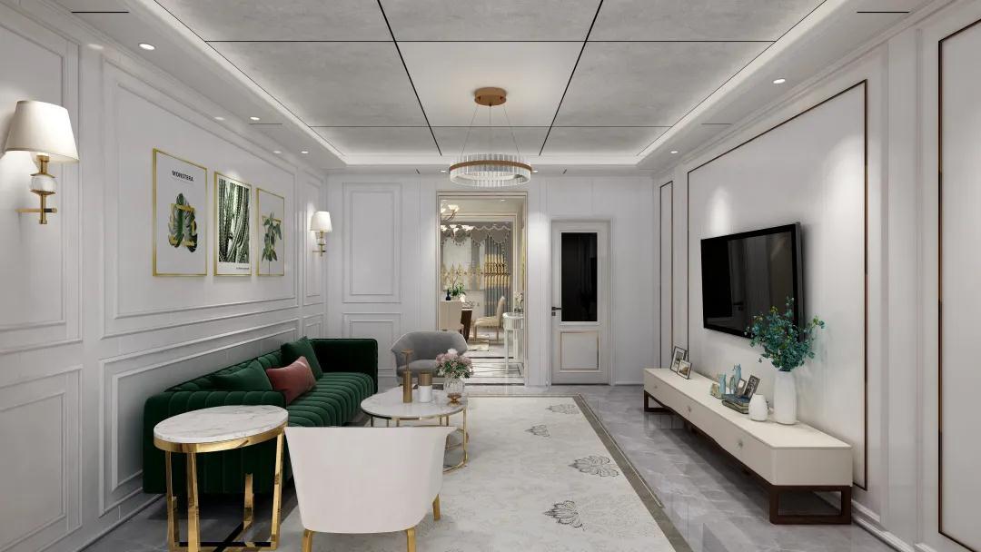 品格现代轻奢设计,完美诠释家居优雅与质感!