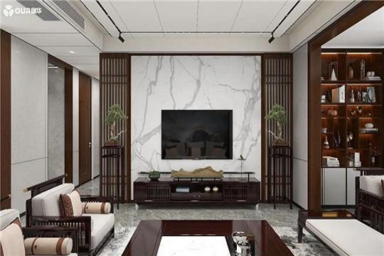 百变改造家丨116㎡新中式温润悠然 一周给你一个家