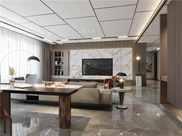 200m²大平层:高定材质演绎未来高端居所,惊艳不止于颜值!