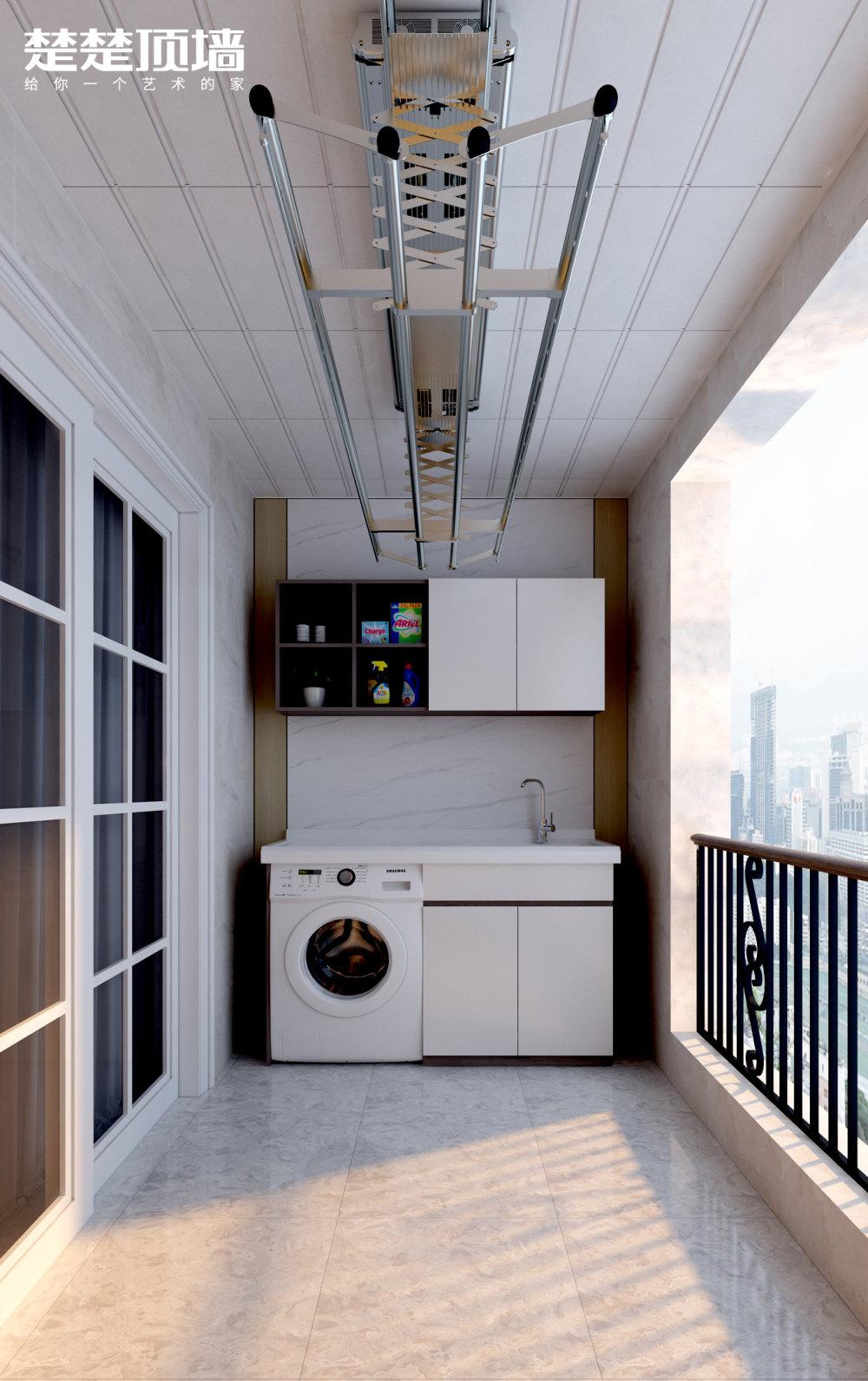 洗衣晾晒阳台