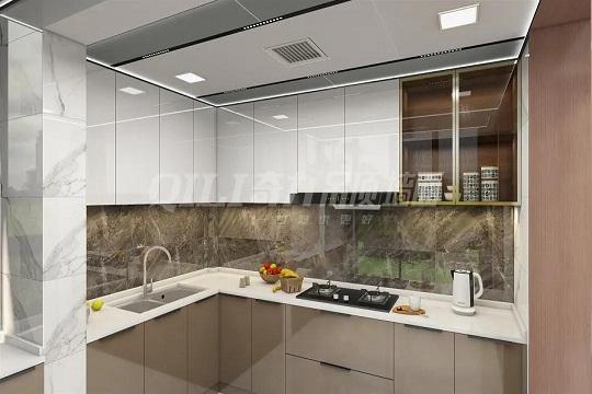 厨房装修想高端,就选奇力蜂窝大板!