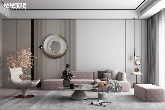 楚楚顶墙竹木纤维板,带给您更环保、便捷的新房装修方式