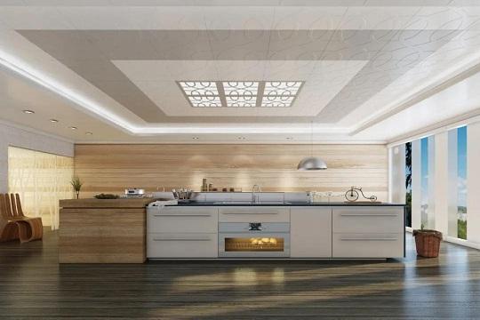 品格高端顶墙:厨房吊顶怎么选,才能抗油又防潮?