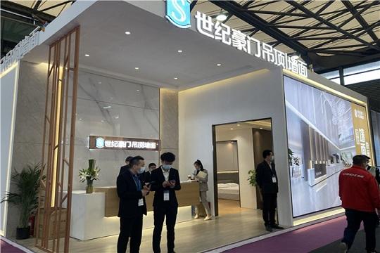 【上海酒店展】世纪豪门高端顶墙惊艳亮相 轻松玩转酒店快装