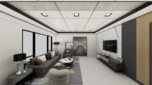 品格高端顶墙:全景大板如何做灯光,更有质感?