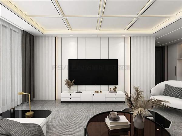159m²装修实例 | 极简+白,美出新高度的家装设计!