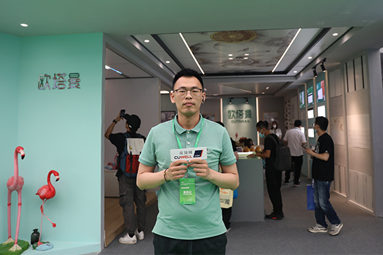 【2021嘉兴展】欧塔曼尹川:贴近消费者 快速提升品牌知名度