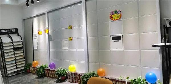 奇力顶墙常熟专卖店重装升级