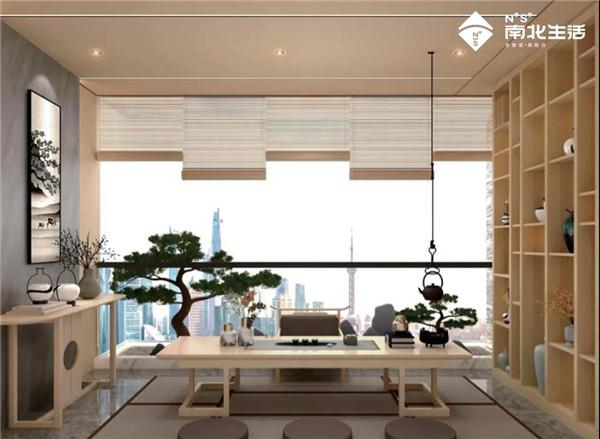 茶室丨南北生活阳台,将阳台变成您想要的空间