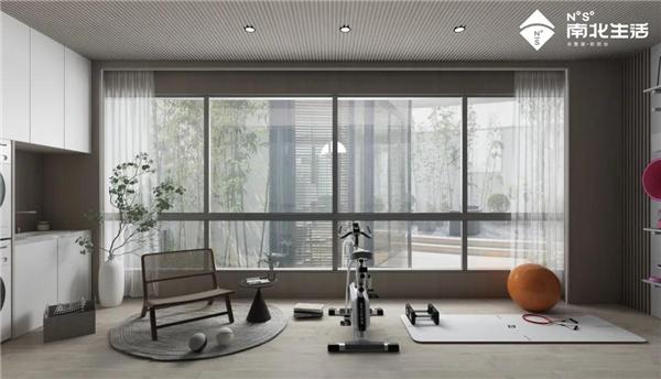 远离健身房的冰冷,南北生活阳台让身体与心灵得到双重释放