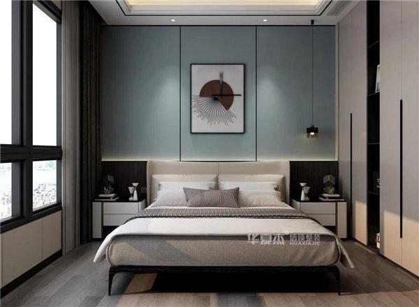 华夏杰硬朗风卧室设计