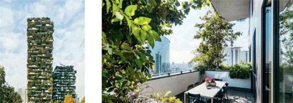 森林阳台(意大利米兰) 绿色景观阳台