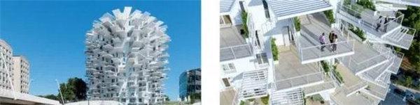 树状阳台(法国蒙彼利埃)