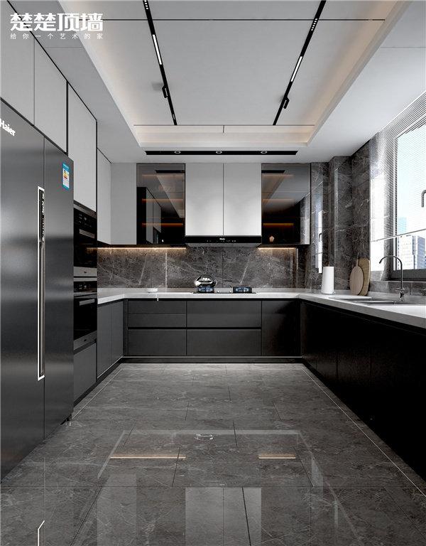 楚楚顶墙厨房设计