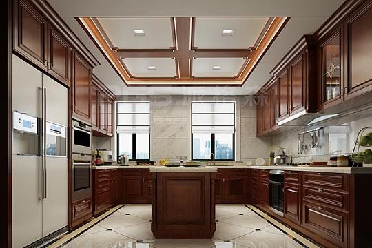 三大风格厨房顶墙装修设计,总有一款是你的爱!