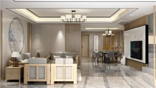 客厅 • 新中式禅意美学