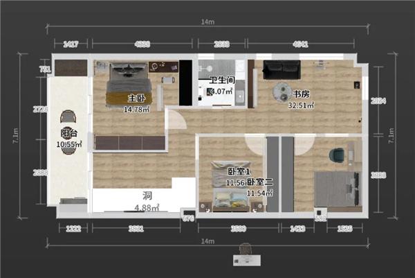 224㎡复式四居室,新中式的设计太有意境了!