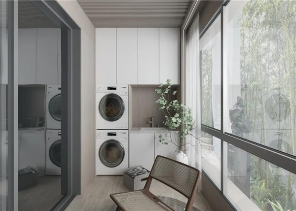 两款南北生活阳台方案,看看是你心中的那一方舒适净土吗?