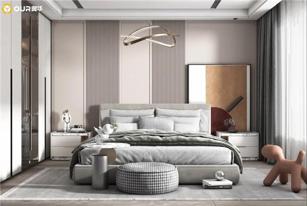奥华把卧室动线设计发挥到极致,没有浪费1平方米!